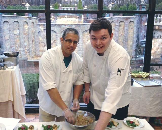 Chef James DeSisto of Laboratorio Kitchen- Taste of Montclair 2016